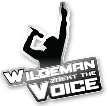 logo talentenjacht wildeman zoekt the voice